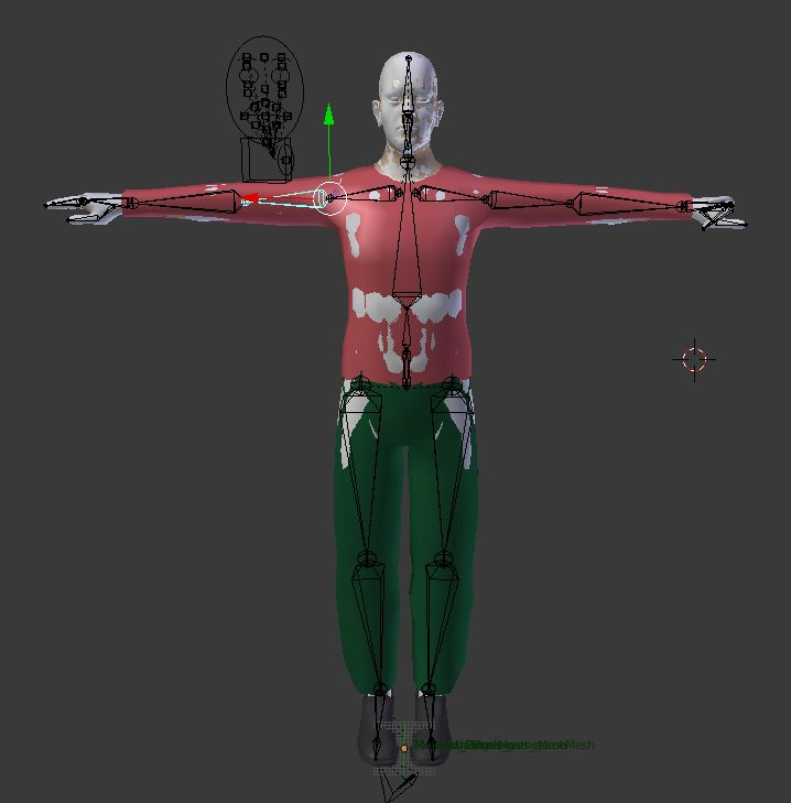 The VirtualMe from MakeHuman
