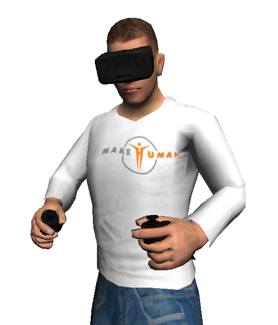 InstantVR: no more virtual reality without an avatar