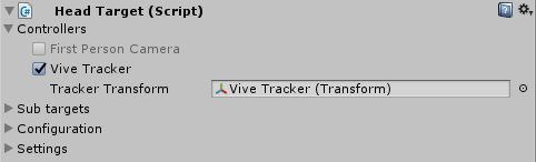 HTC Vive Trackers – Passer